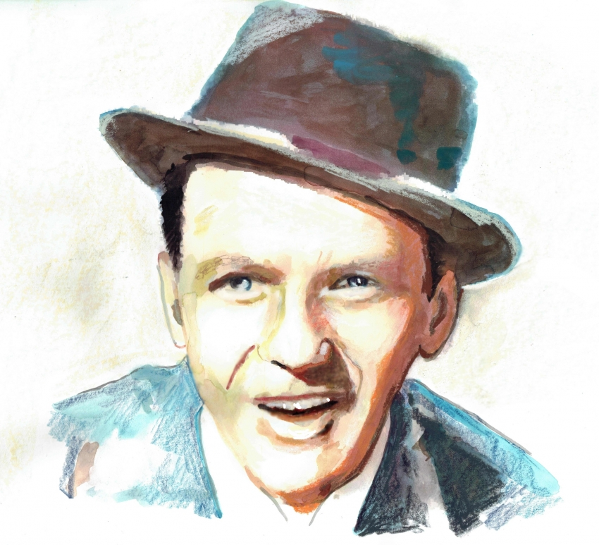 Frank Sinatra by brainfree